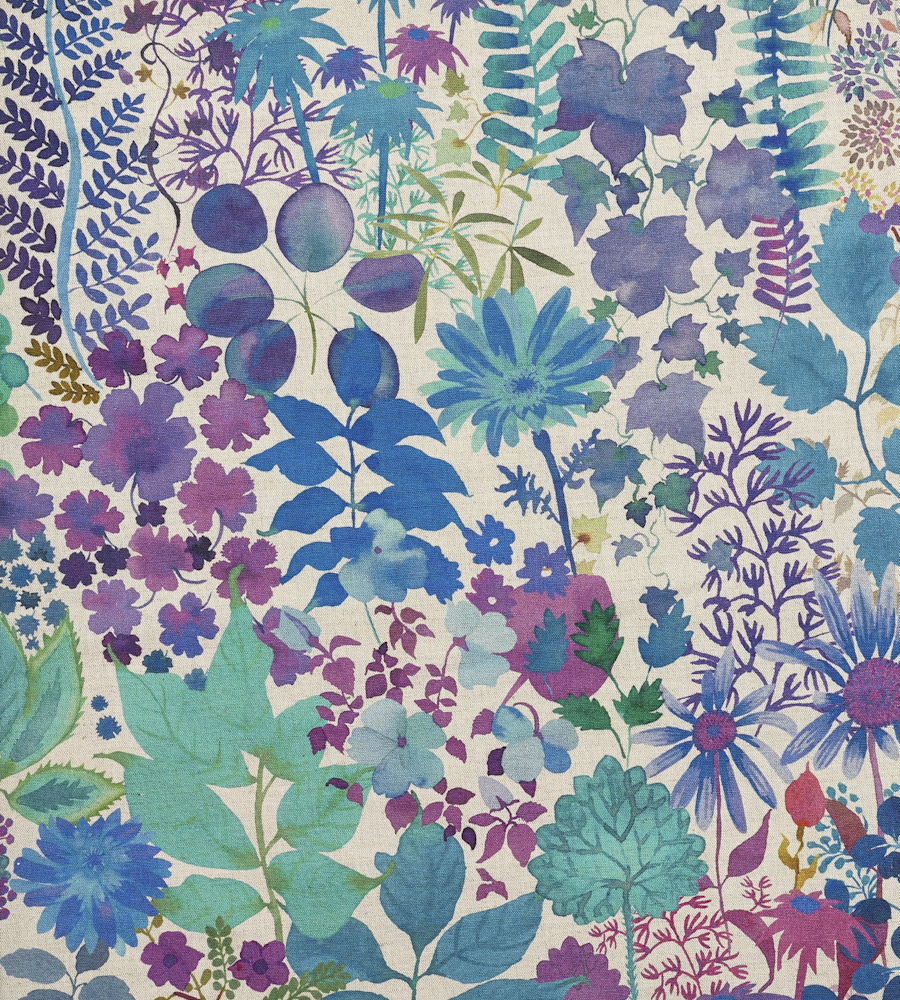 fresco lagoon fabric the nesfield collection liberty art