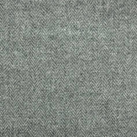 Herringbone Slate Grey Fabric Harris Tweed Art Of