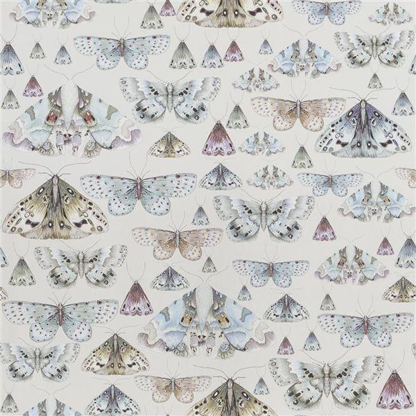 Issoria Pearl Wallpaper Jardin Des Plantes Designers Guild
