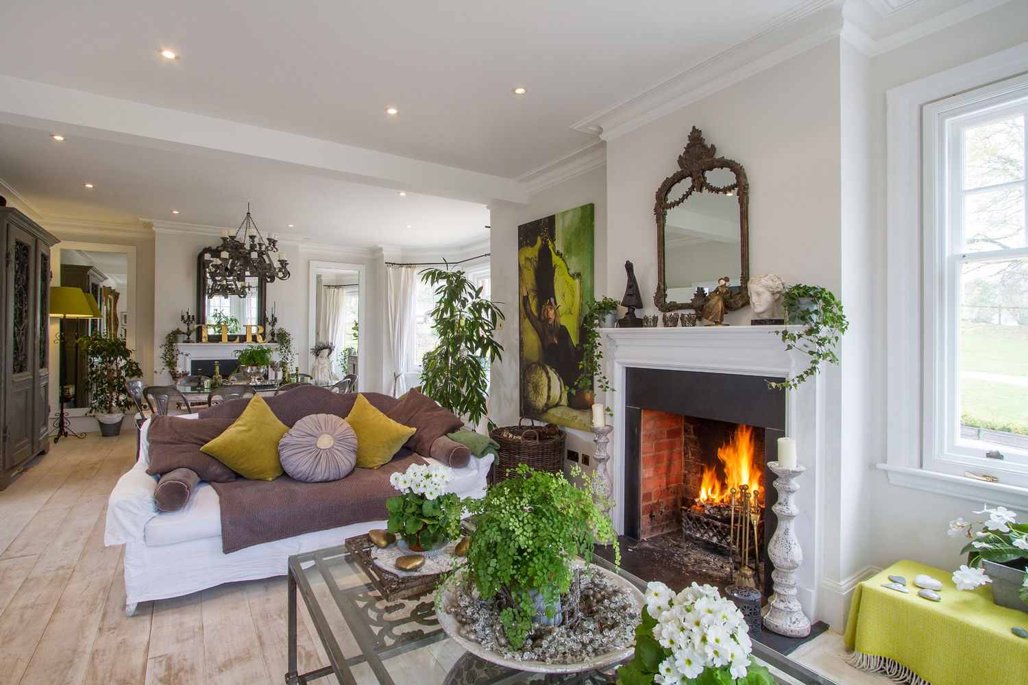 Period Living Room Property Of The Day Farringdon House Hampshire Town Country
