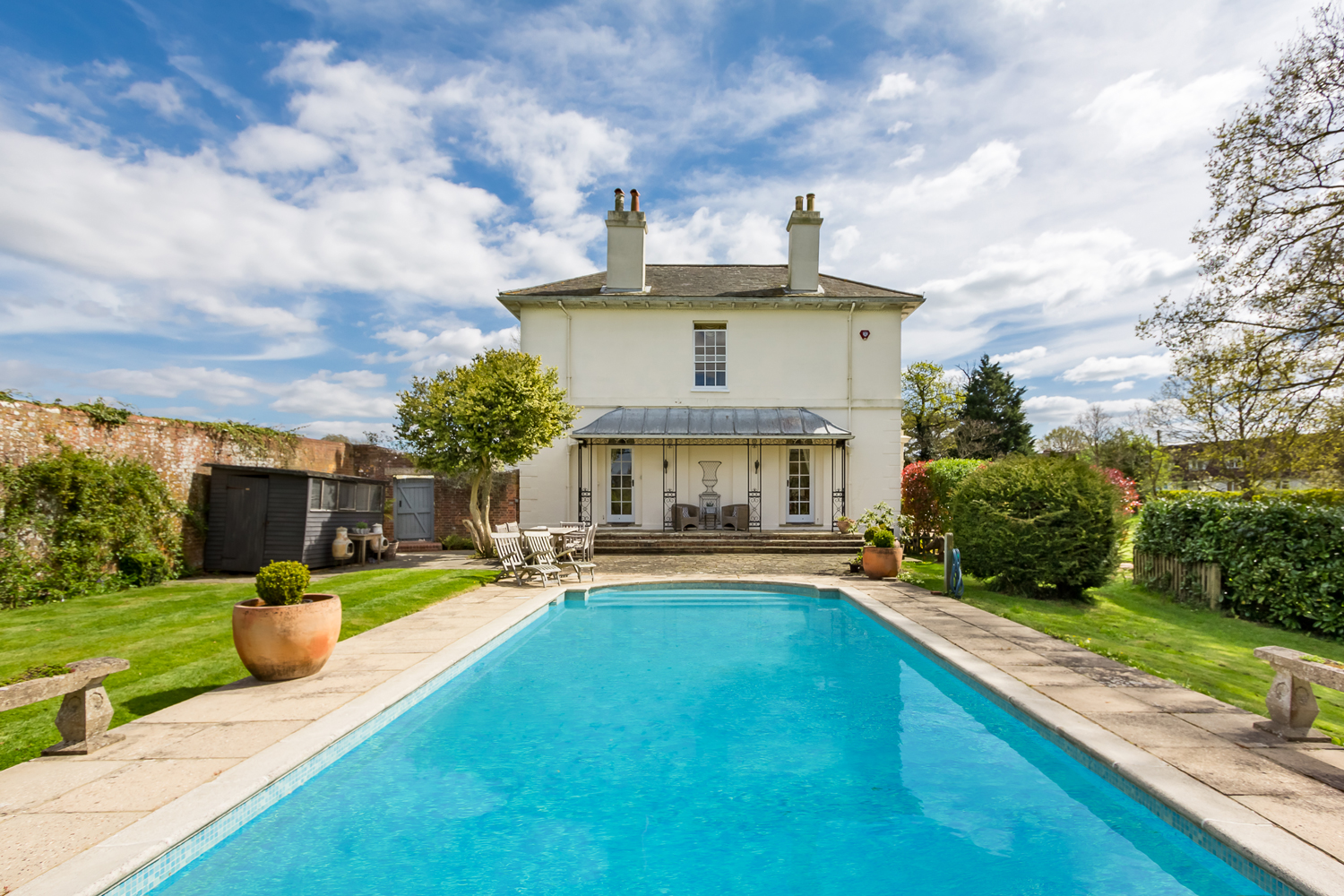 Property Of The Day The Old Rectory Twineham Town Country Magazine Uk