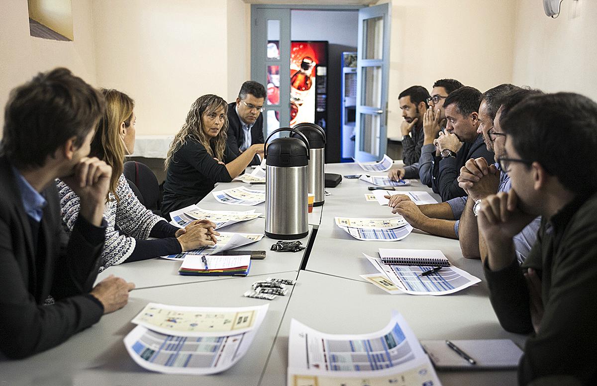 Una imatge de la trobada celebrada recentment