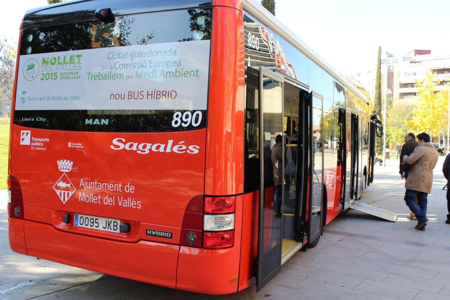El bus de Mollet ha transportat més de 39.000 viatgers al setembre