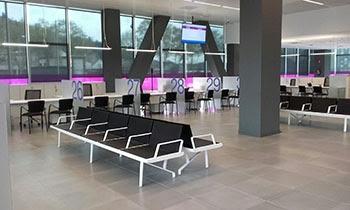 Imatge d'una del disseny d'oficines que es preveu desplegar en els propers mesos