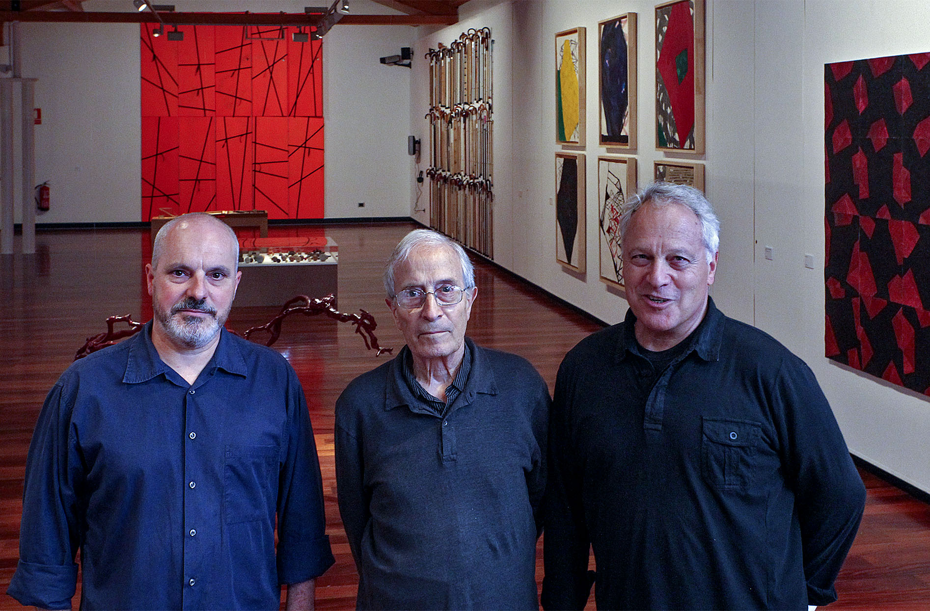 Jordi Lafon, Joan Furriols i Pep Montoya