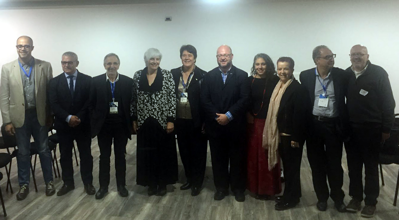 Els membres de la delegació