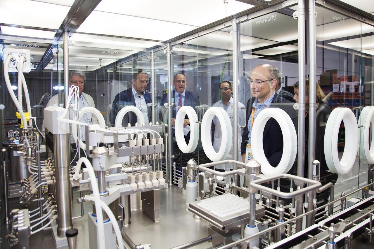 Dara Pharma va mostrar les instal·lacions a visitants de la fira química i farmacèutica de Barcelona, la setmana passada