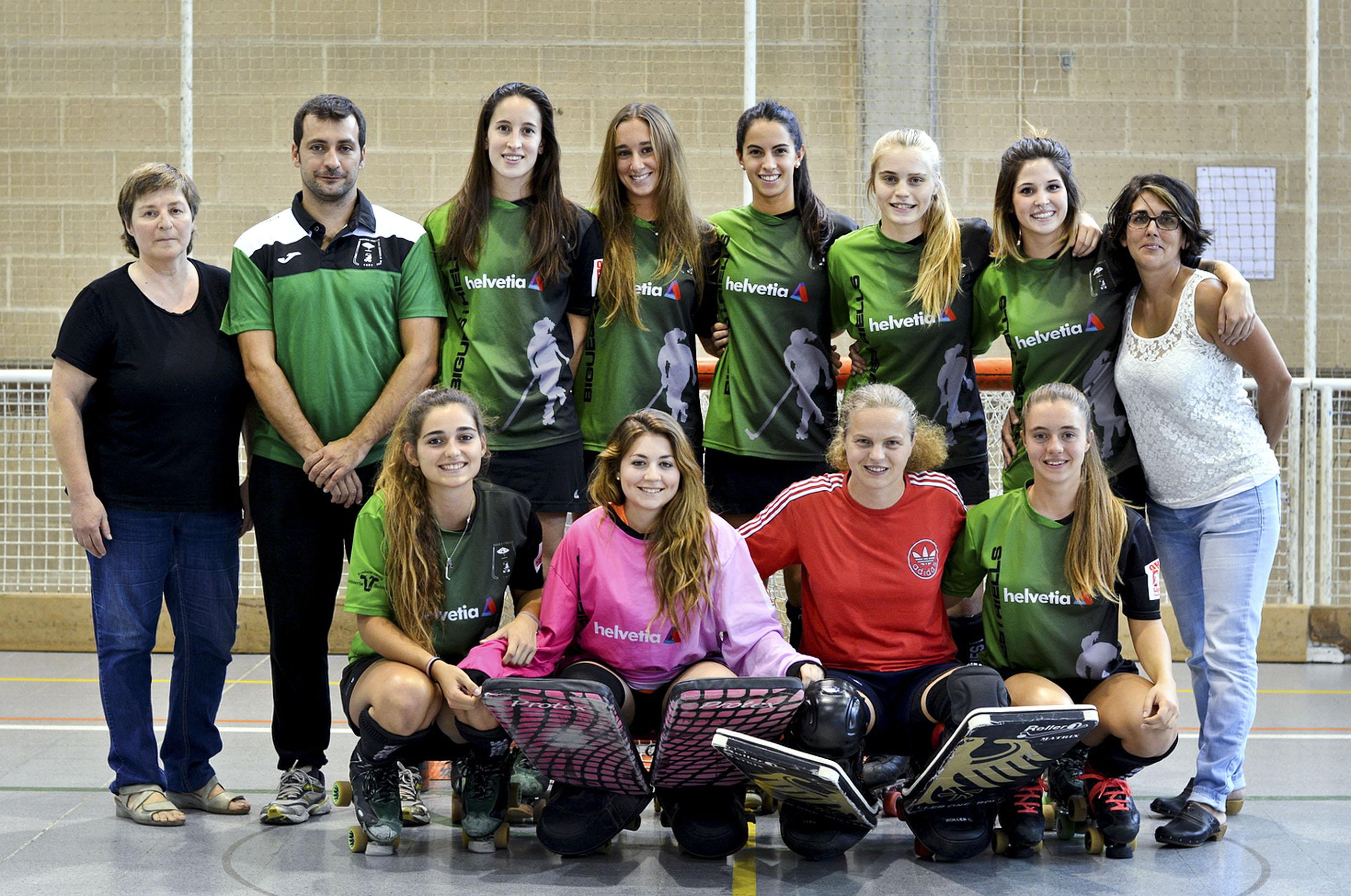 L'equip és el mateix de l'any passat, amb la nova portera Georgina Gervilla