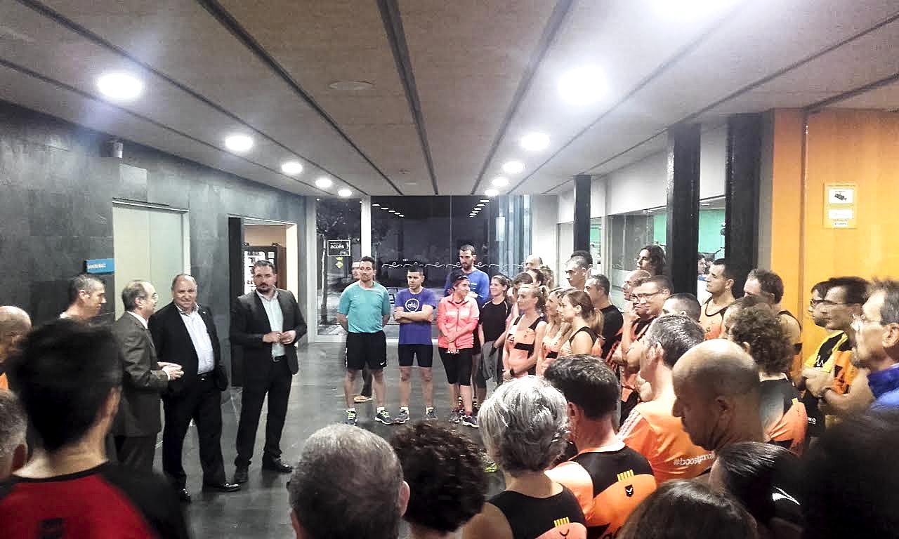 Unes 50 persones van encetar, dimecres, el programa 'Entrena la Mitja' a les Franqueses