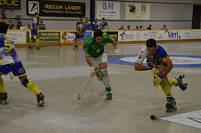 El Caldes va sumar la primera victòria davant el potent Liceo gallec