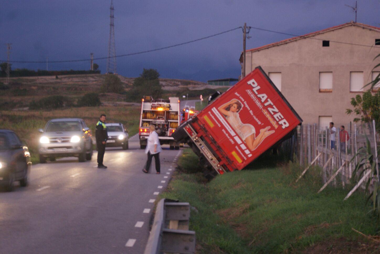 Imatge de com va quedar el camió