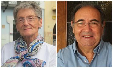 Olga Pey i Joan Garriga se sumen als guardonats amb la Medalla de Granollers