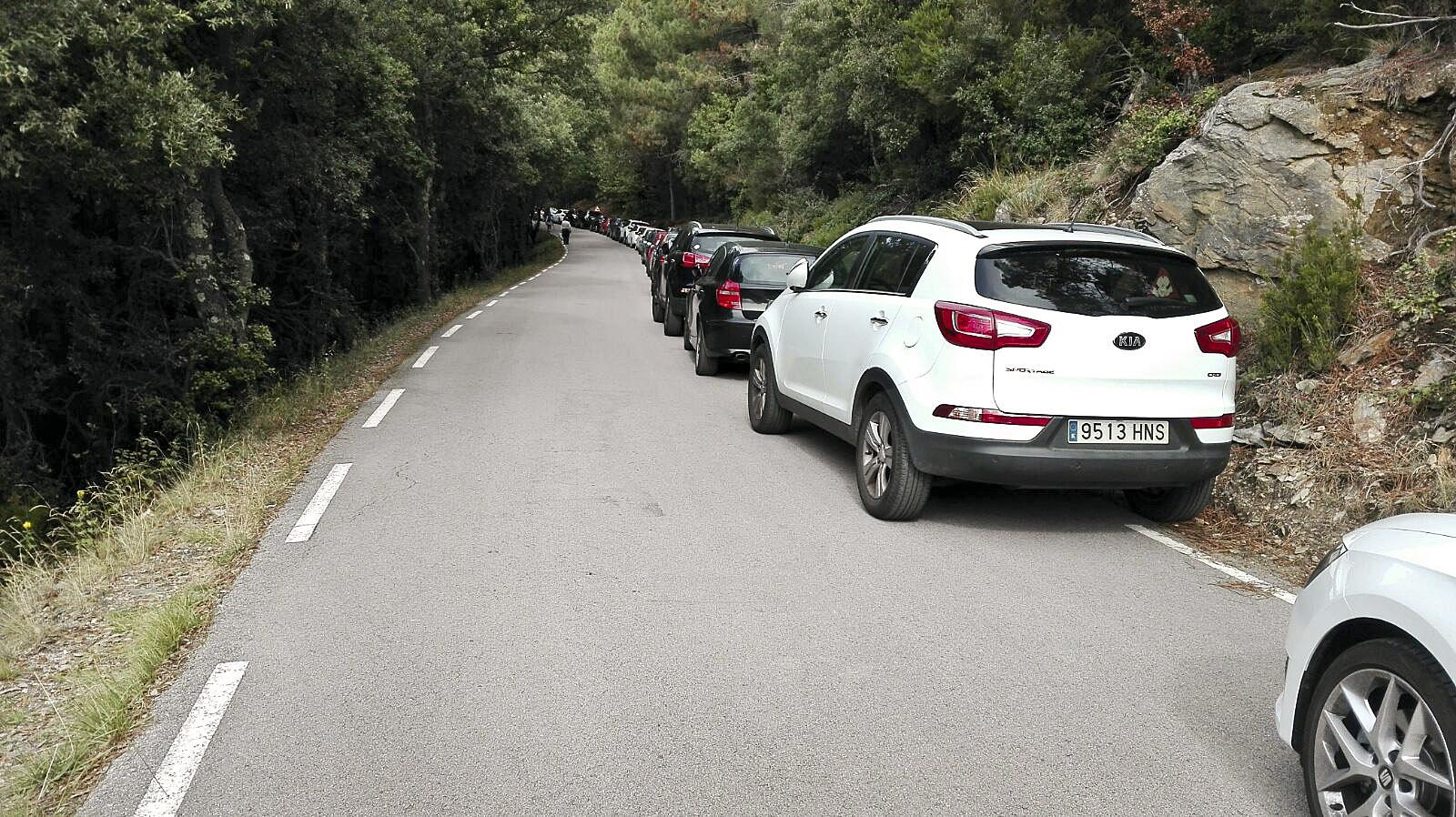aparcamiento montseny