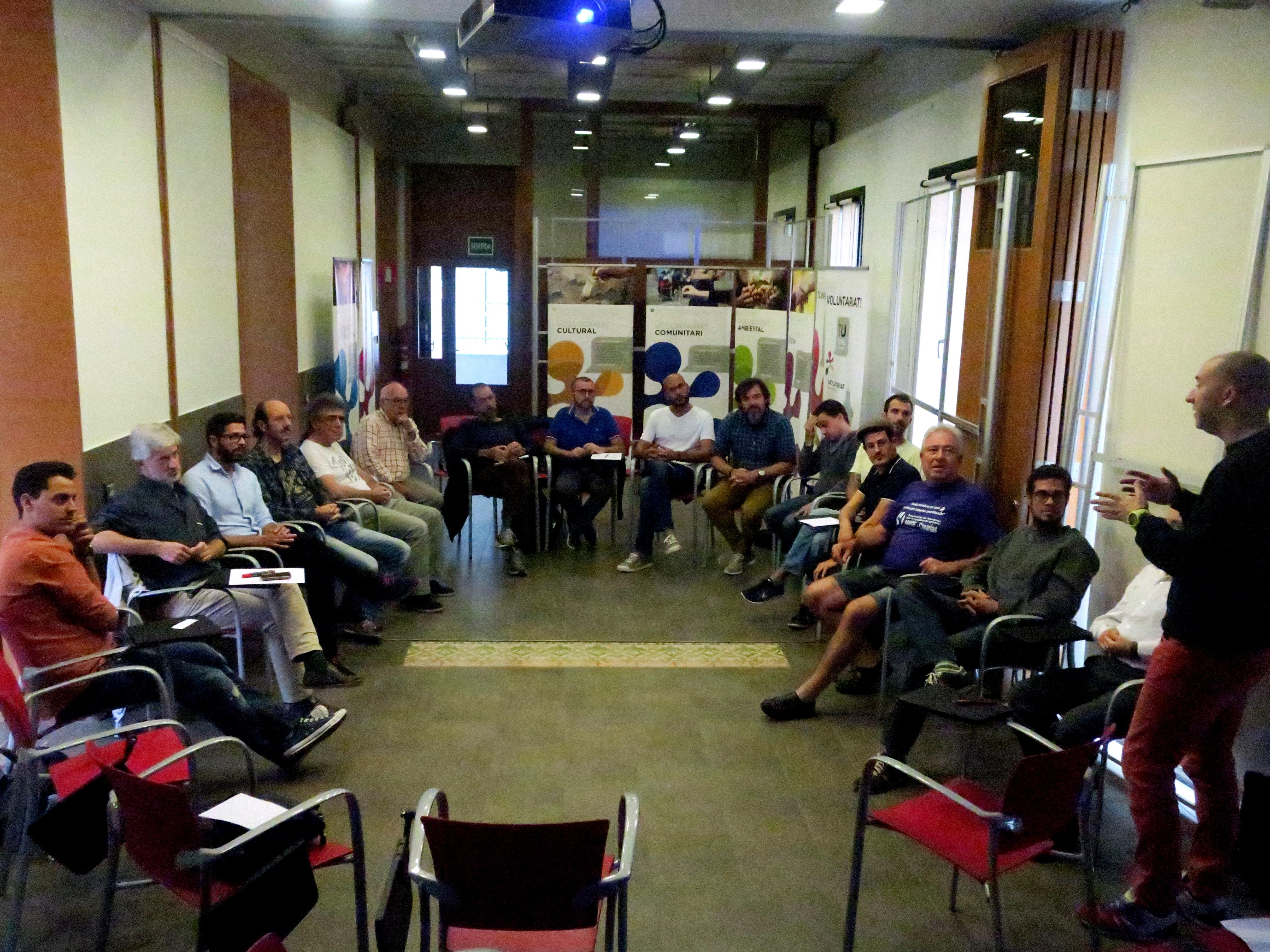 La Trobada Catalana d'Homes per la Igualtat es va fer dissabte a Can Jonch