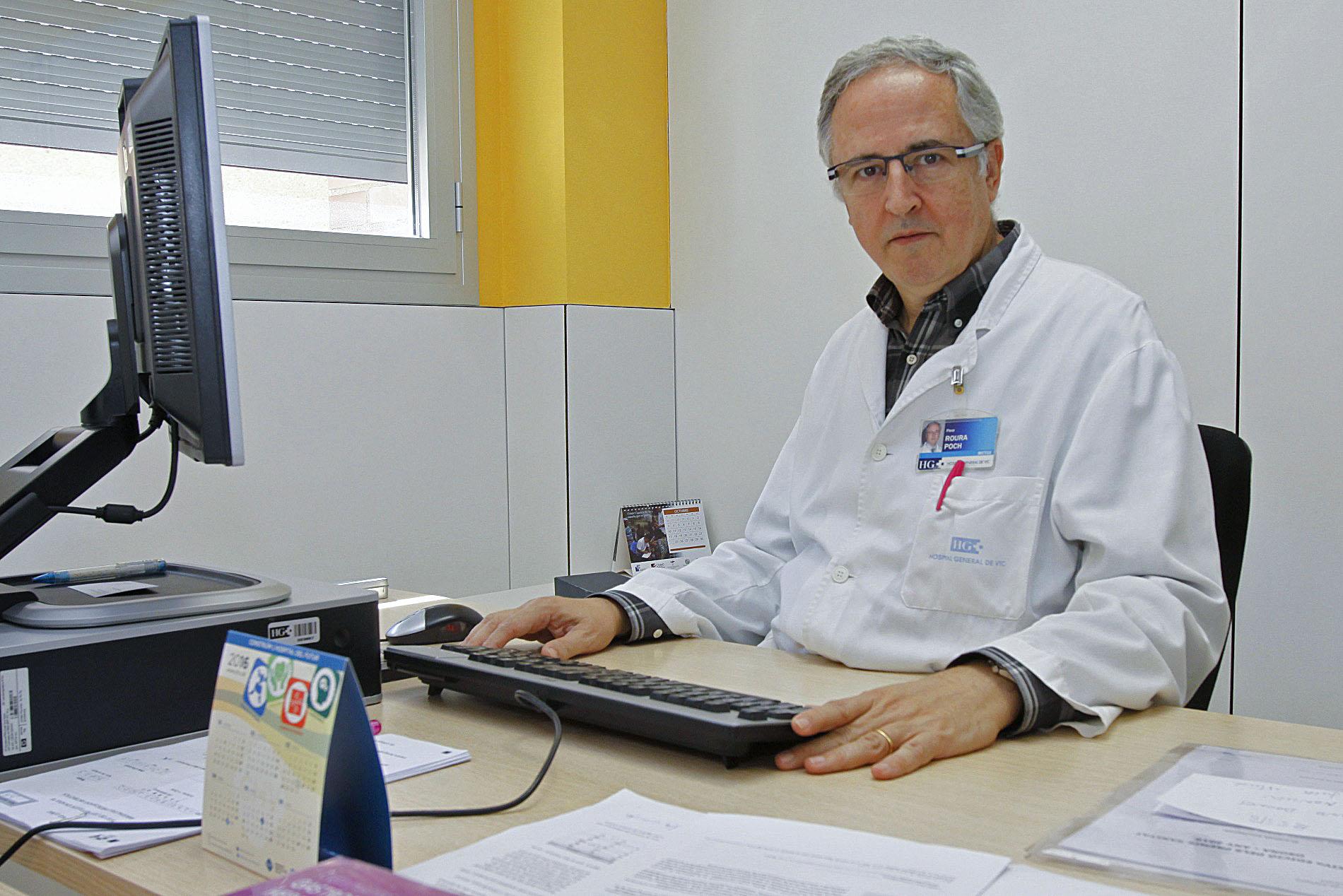 El doctor i epidemiòleg Pere Roura, director de l'estudi