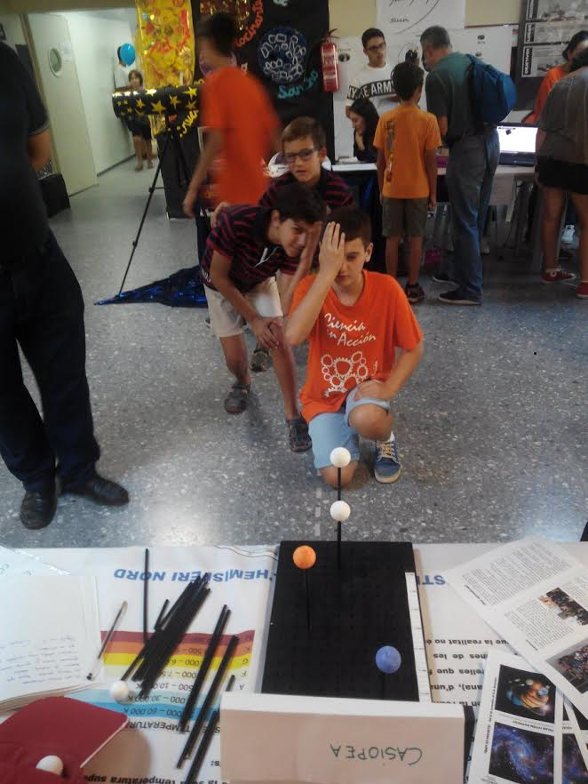 L'escola va exposar part del projecte en la mostra celebrada a Algesires