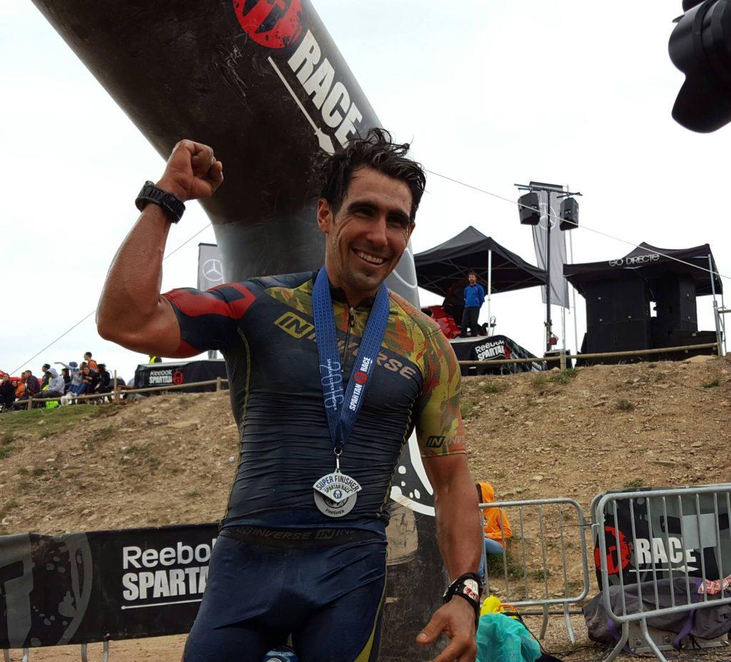 Albert Soley ha fet història en la Spartan Race