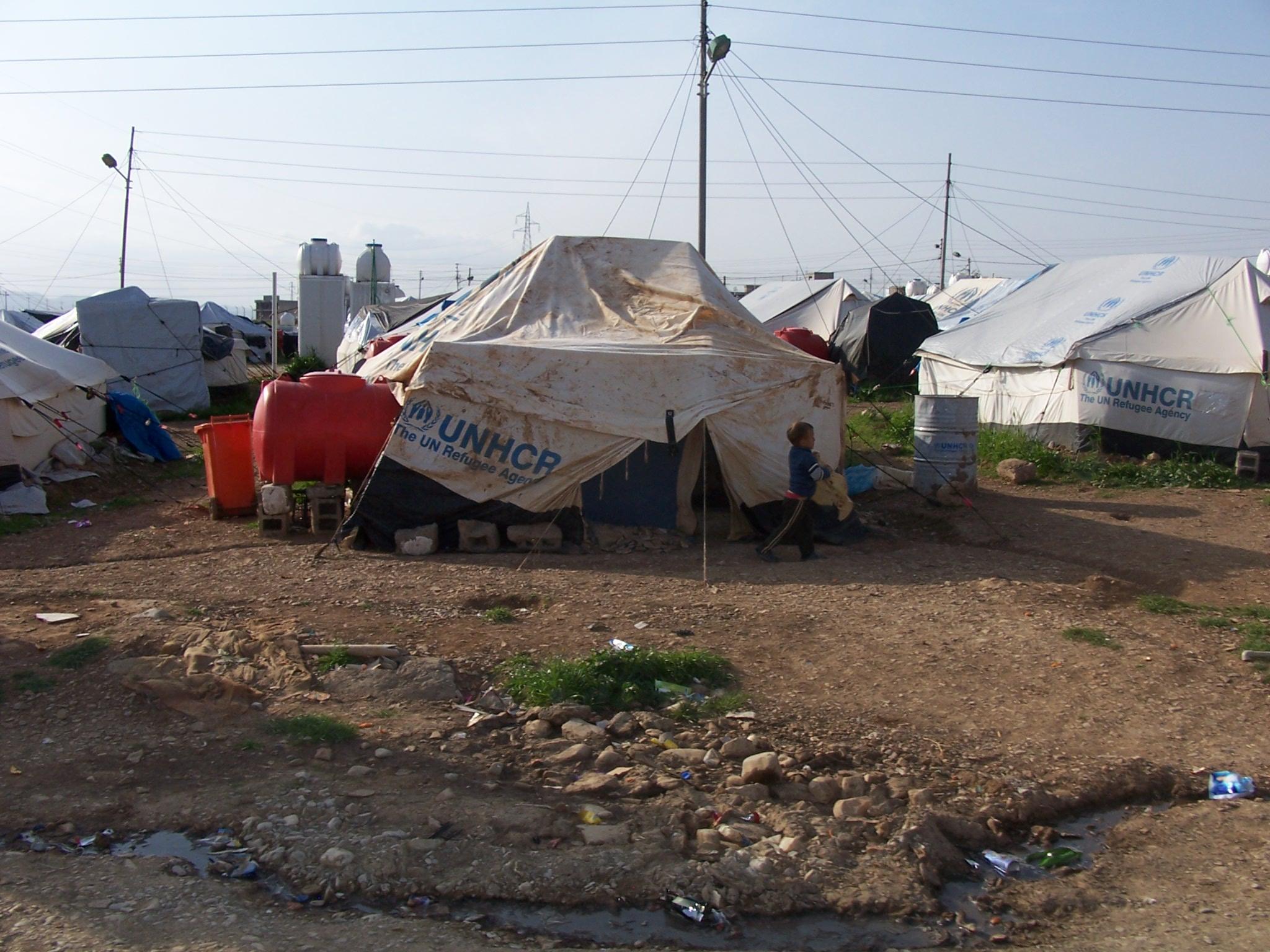Milers de persones estan en campaments de refugiats fugint del conflicte a Síria