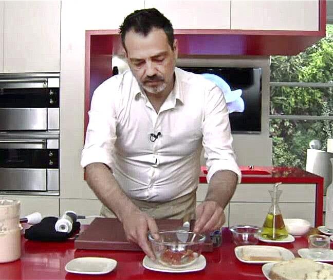 El cuiner Sergi Martínez fa dos anys que viu a la Torreta
