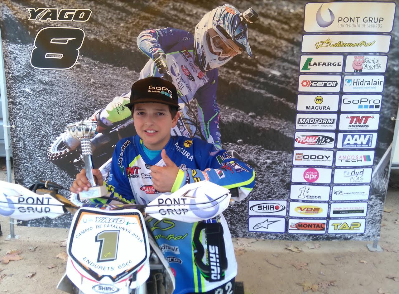 Yago Domínguez va anar de menys a més en la prova definitiva i va aconseguir el títol per molt poc