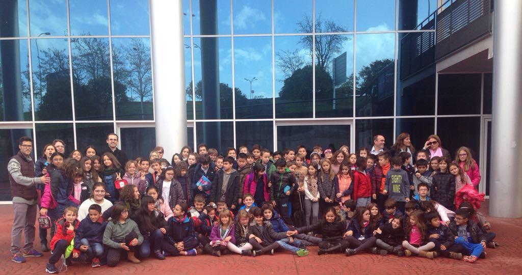 Foto de grup d'un dels grups participants