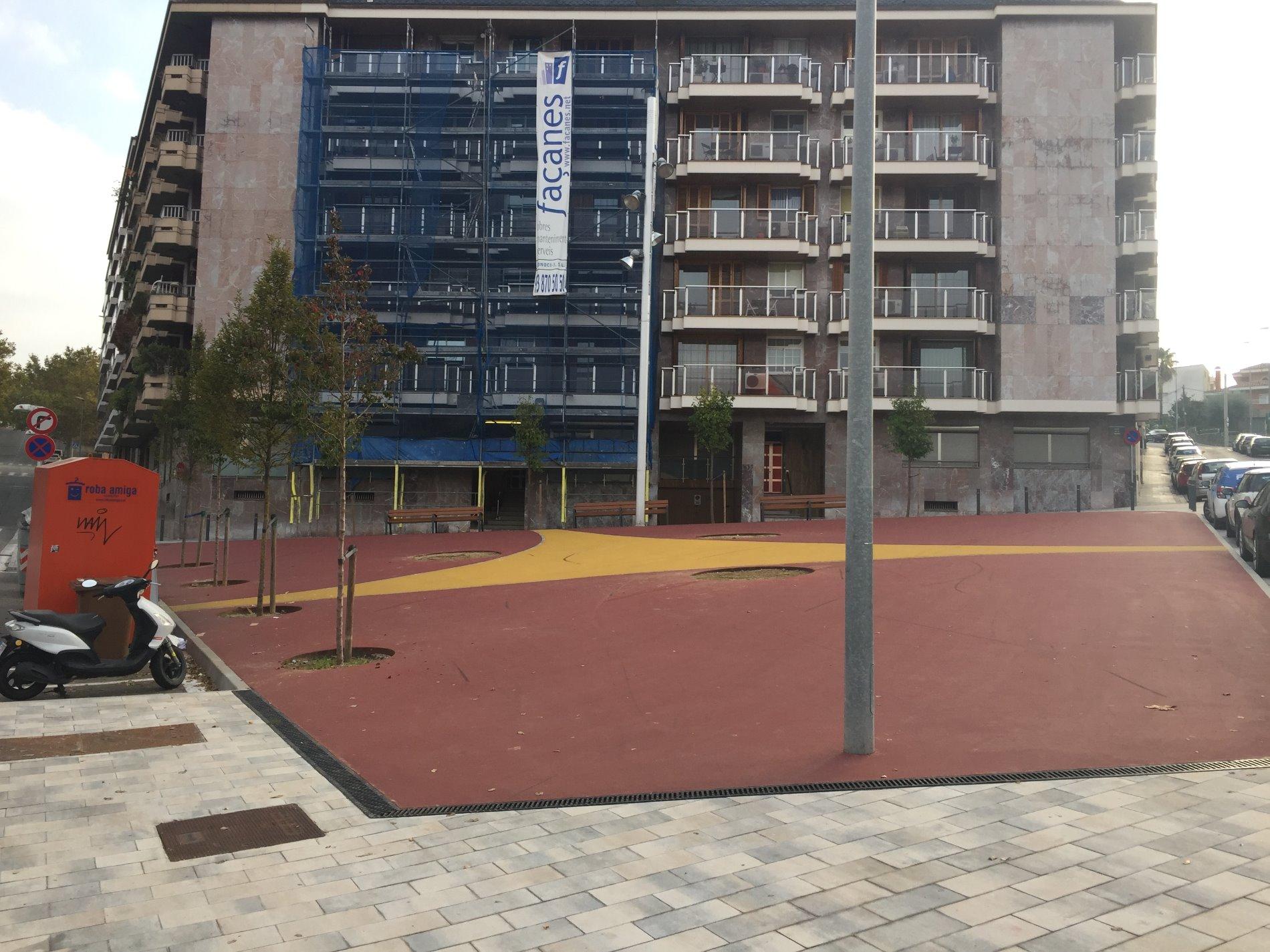Ciutadans proposa el nom de Clara Campoamor per aquesta plaça de la Font Verda