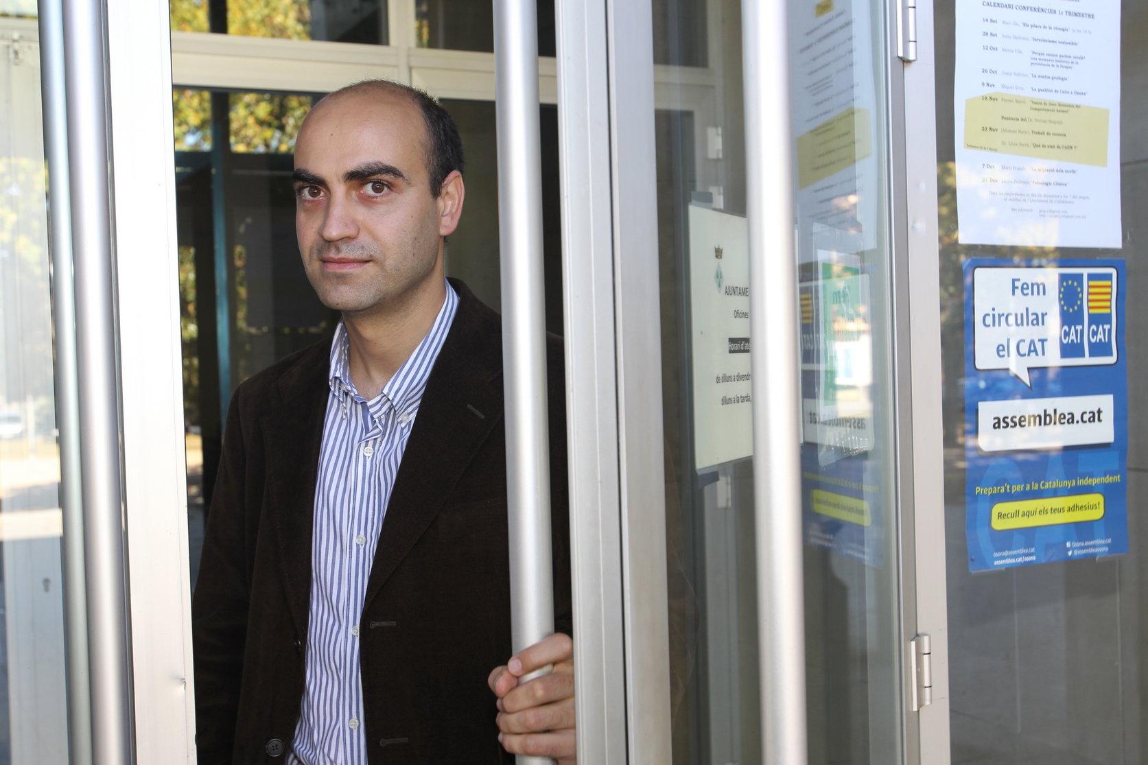 Marc Verdaguer, el candidat més votat a Osona