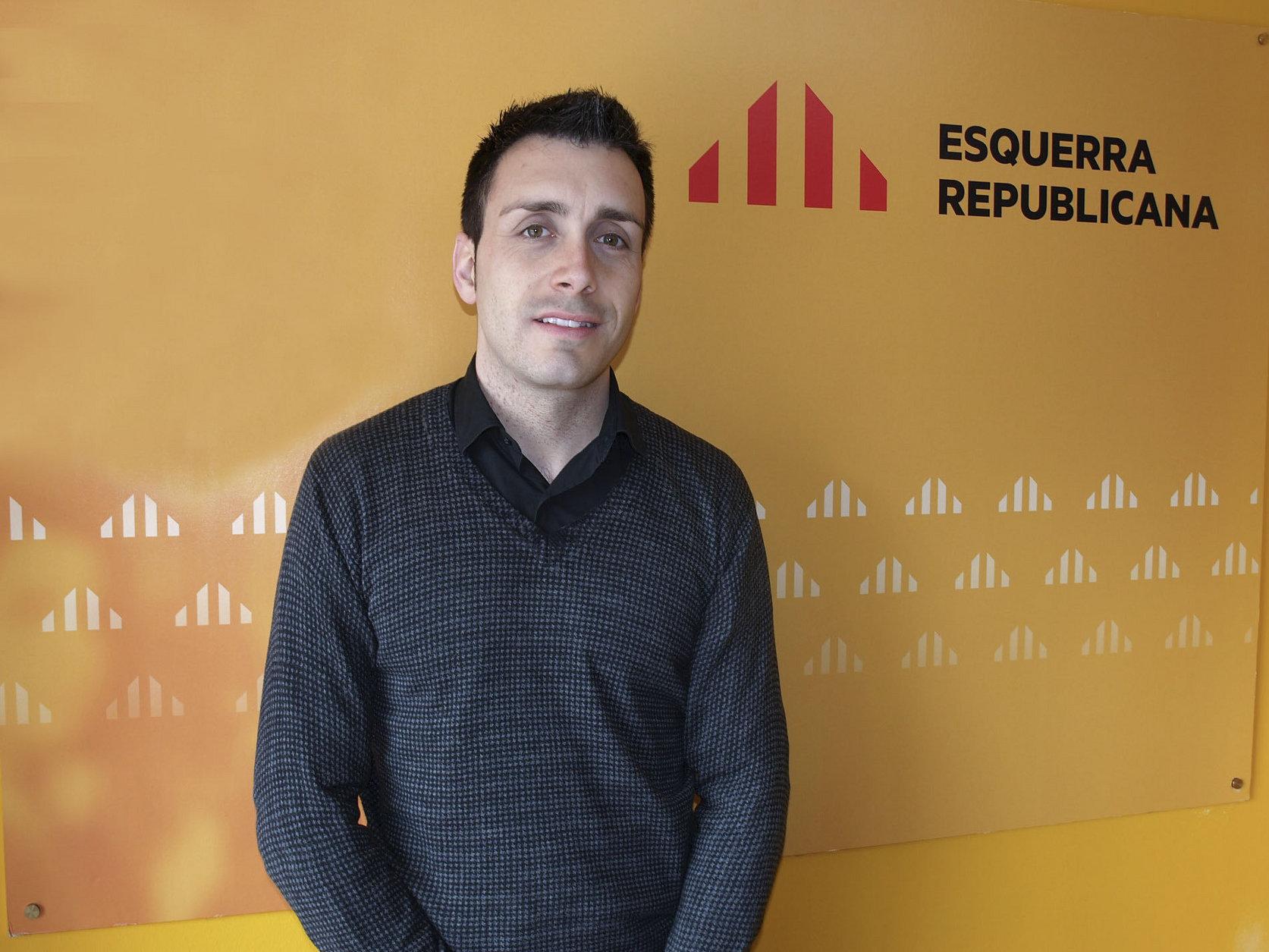 Sergi Albrich és també el portaveu dels republicans a Sant Joan