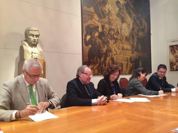 Joan Turró, Josep Arimany, Anna Erra, Laura Rosell i Marc Mussons