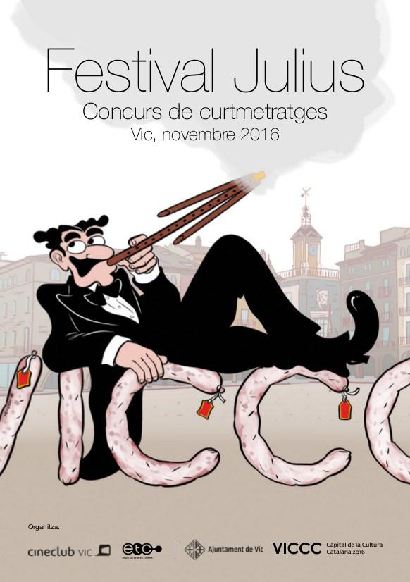 Cartell de l'edició d'enguany dels premis Julius