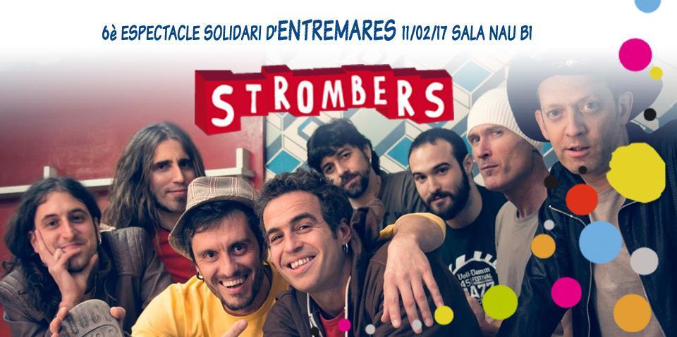 El grup Srombers actuarà en el concert d'Entre Mares