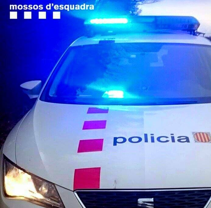 Els Mossos i la Policia Local van col·laborar en la detenció