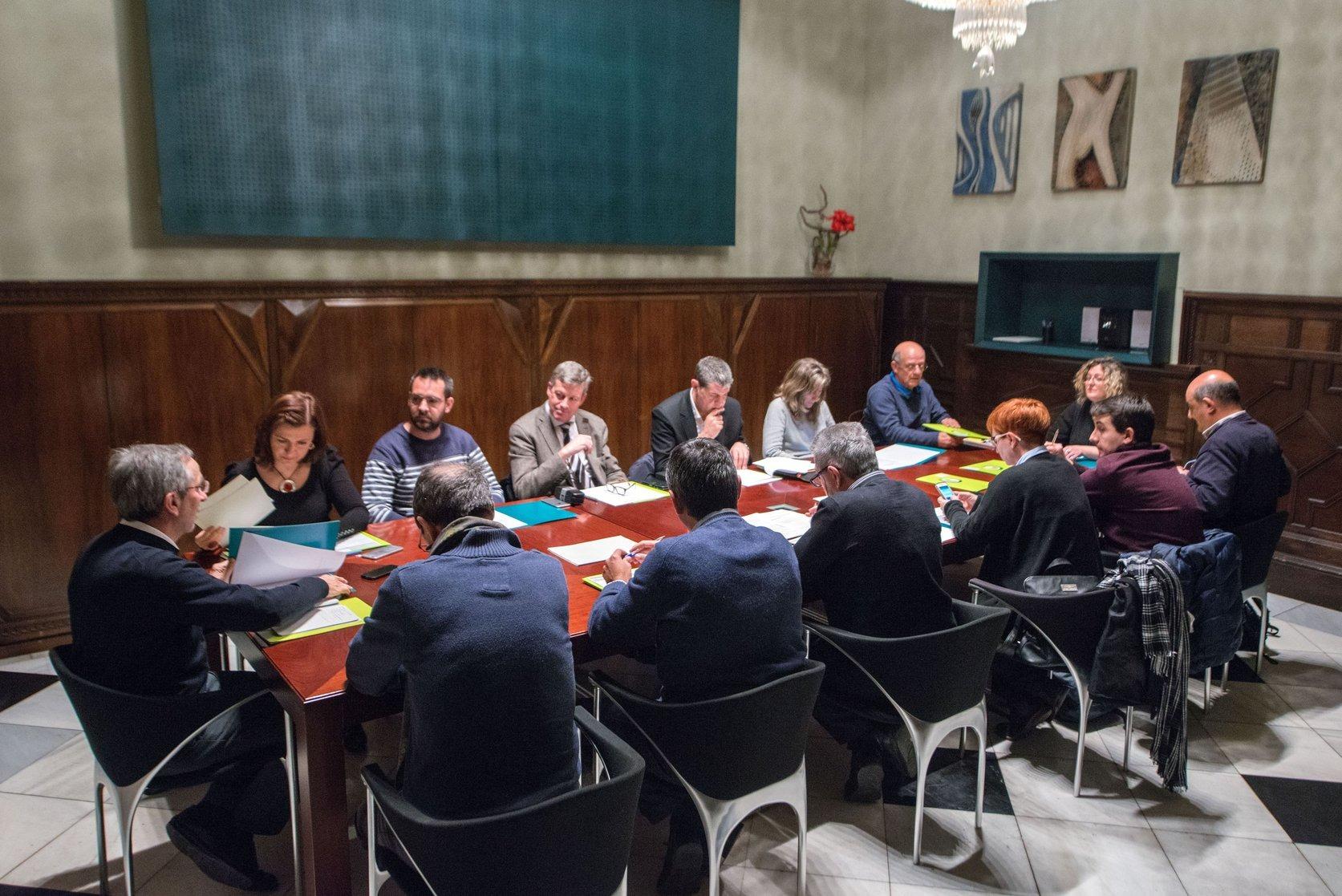 Una trobada del Consell Econòmic i Social de Granollers