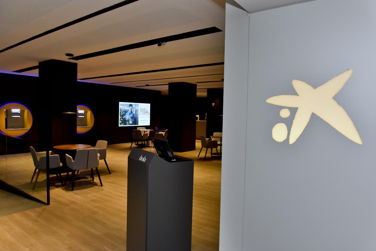 Una imatge de la nova oficina que s''ha posat en funcionament a Mollet