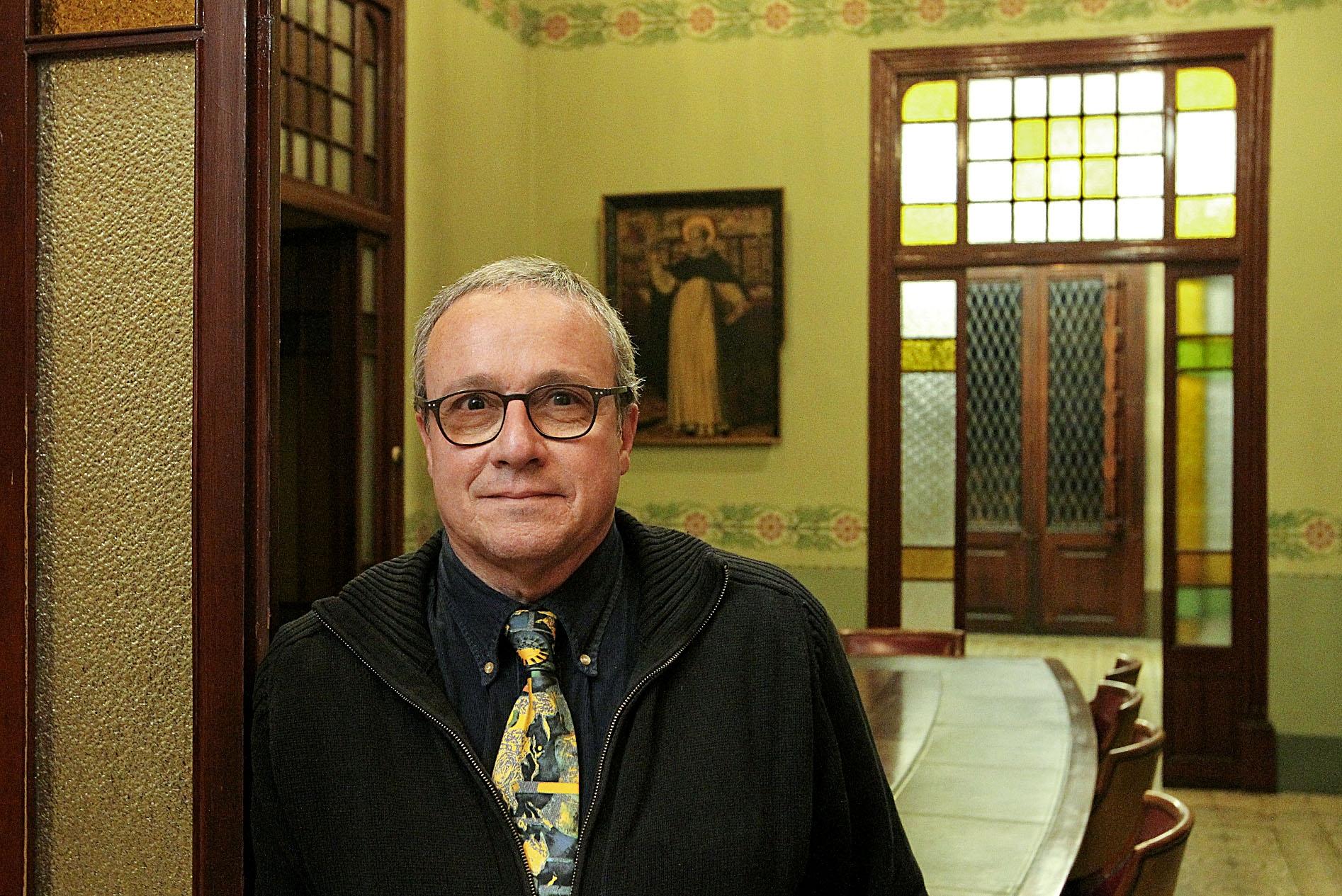 Joan Riera, degà del Col·legi d'Advocats de Vic