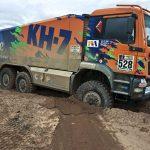 El camió del KH-7 Epsilon Team, atrapat en el fang