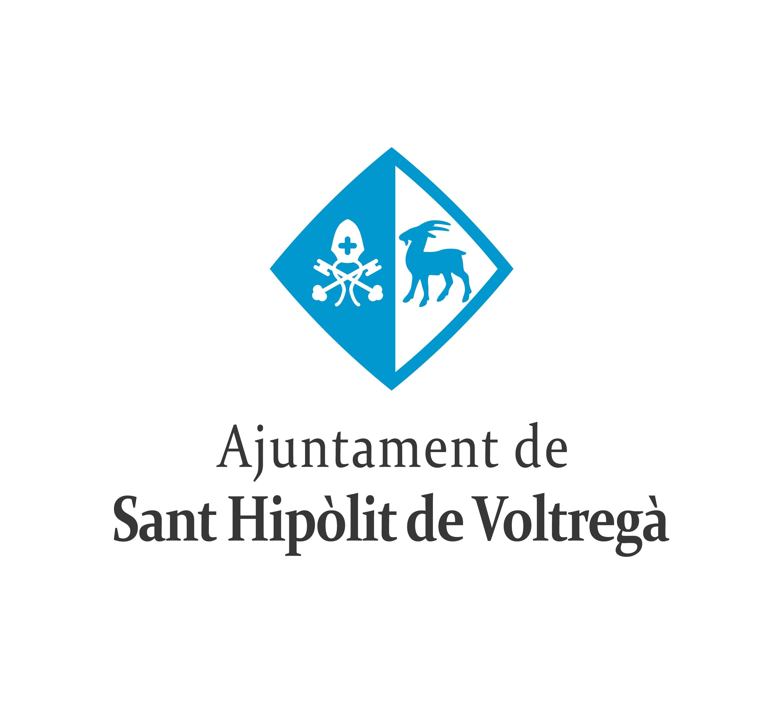 Logotip de l'Ajuntament de Sant Hipòlit de Voltregà