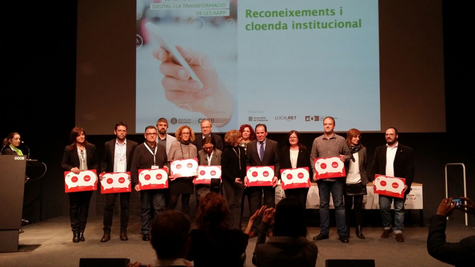 L'Ajuntament de Manlleu va rebre  el reconeixement que el situa entre el Top 10 de la categoria de municipis d'entre 20.001 i 50.000 habitants.
