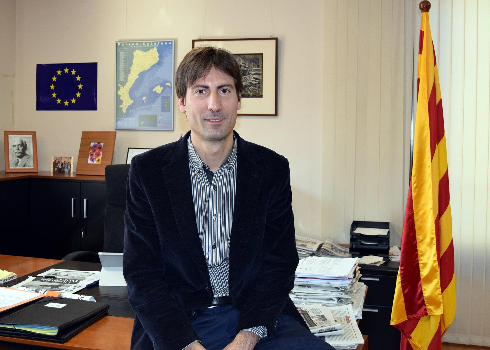 L'alcalde de Caldes, Jordi Solé