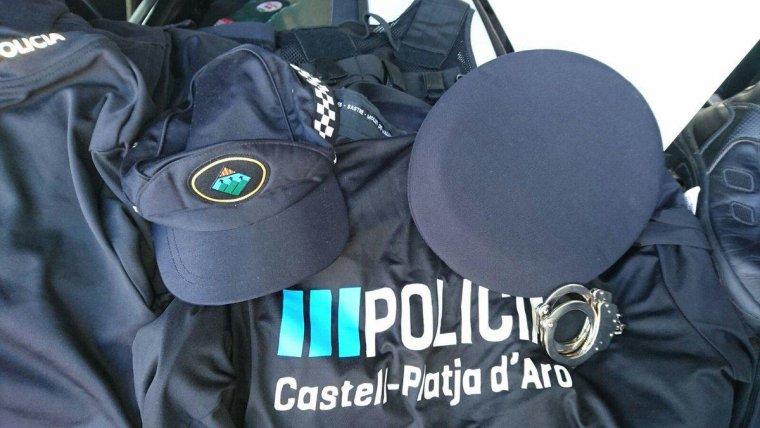 Hi havia roba de la Policia de Platja d'Aro i de Montmeló
