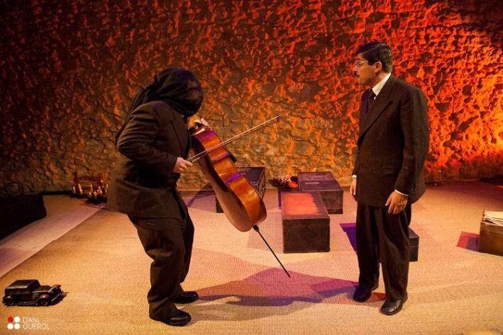 Una imatge de l'espectacle de Terra Teatre