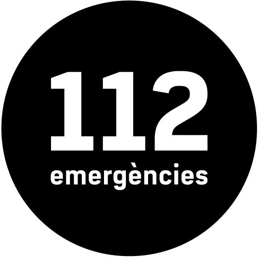 El logotip del telèfon d'emergències 112
