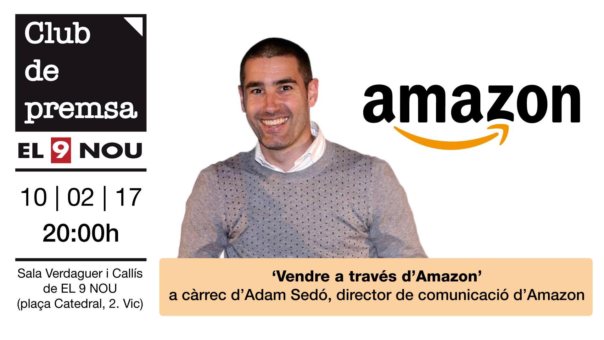 Adam Sedó explica els avantatges que pot aportar vendre per Amazon a internet