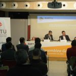 L'assemblea de l'AMTU que va nomenar president de l'entitat Jordi Xena, alcalde de Santa Maria de Palautordera