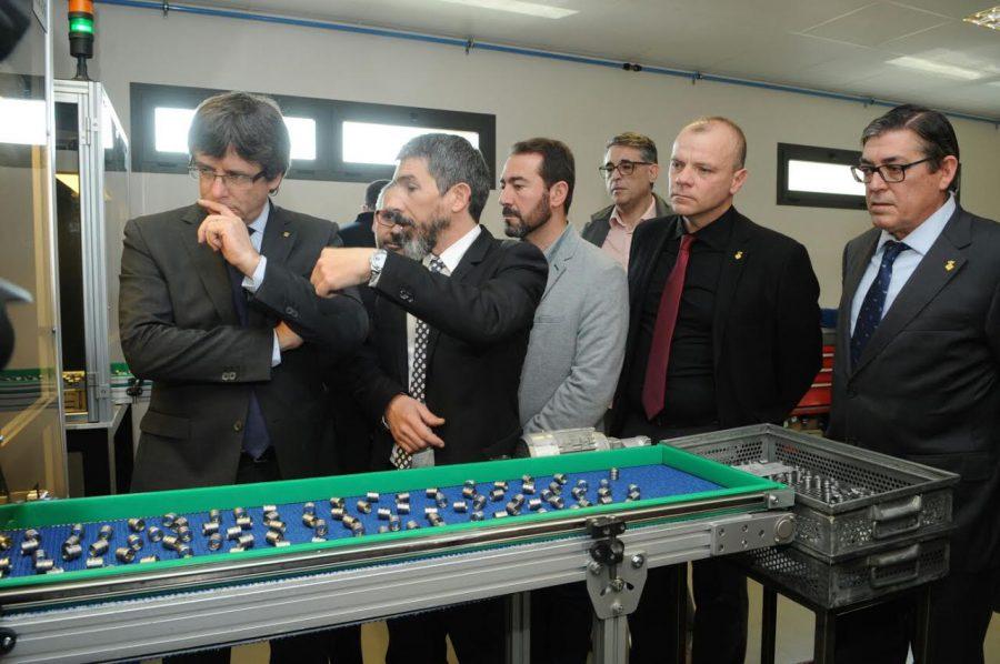La visita del president a l'empresa Decfa/Ramon Ferrandis