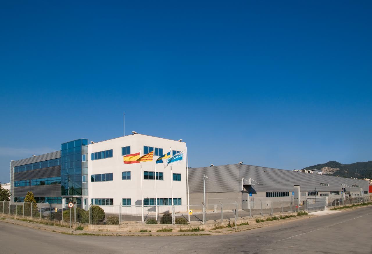 La planta de Martorelles de la multinacional sueca Sandvik