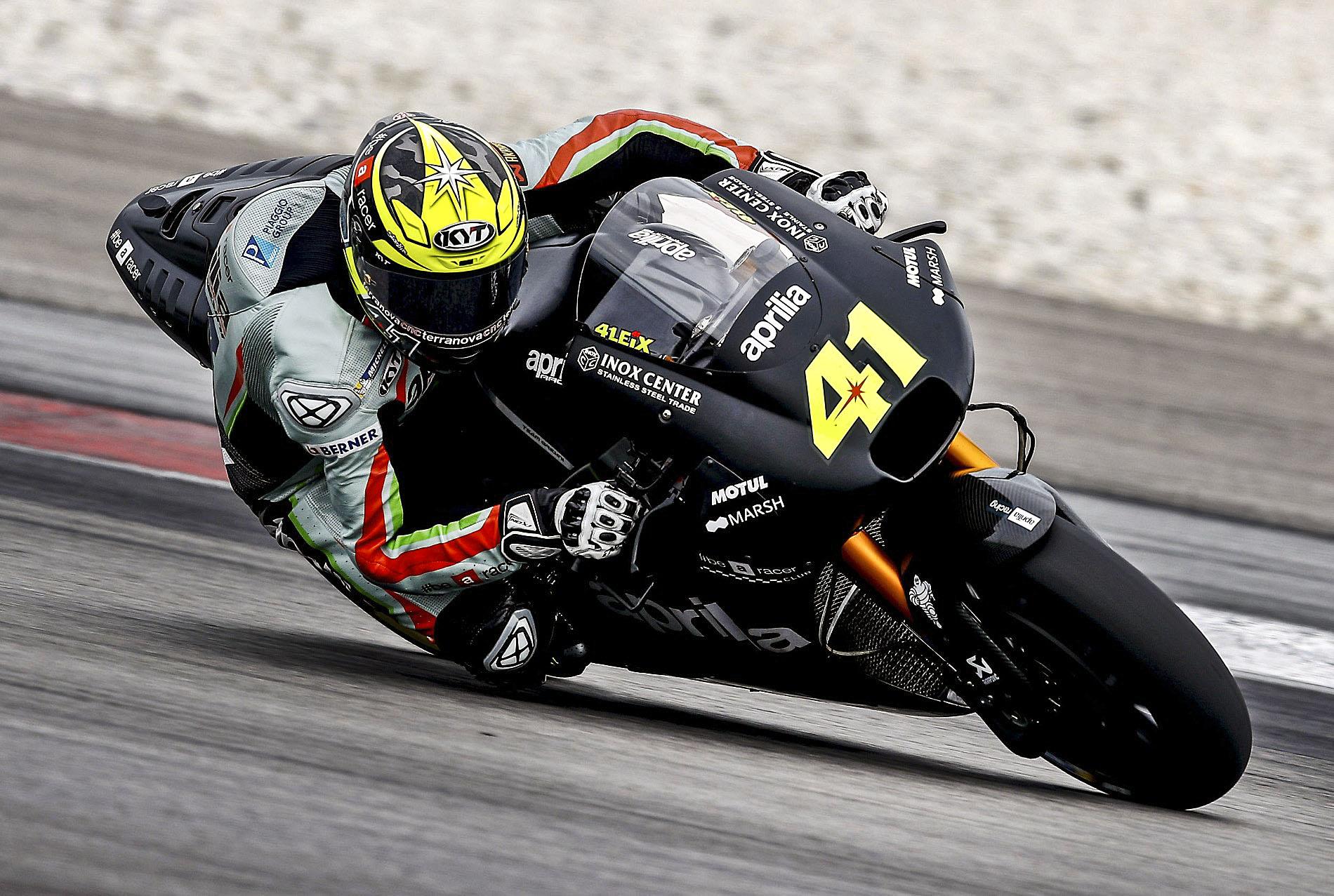 L'Aprilia d'Aleix Espargaró va respondre millor que la novíssima KTM de Pol Espargaró