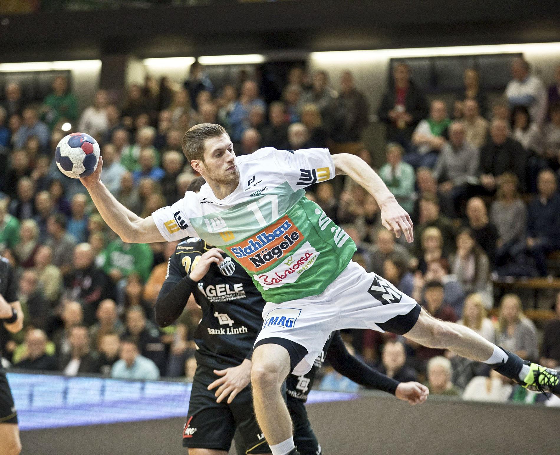 El lateral esquerre Daniel Fontaine és un dels jugadors més complets del Göppingen