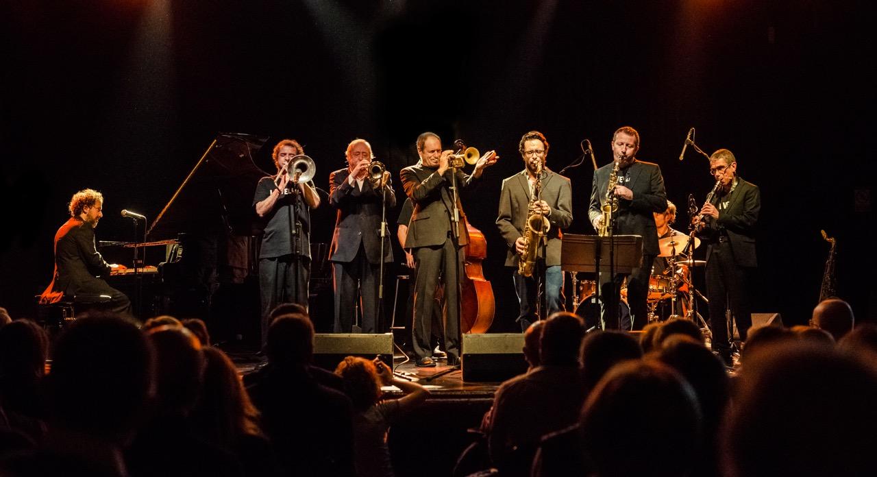 El grup de jazz La Vella Dixieland en una actuació