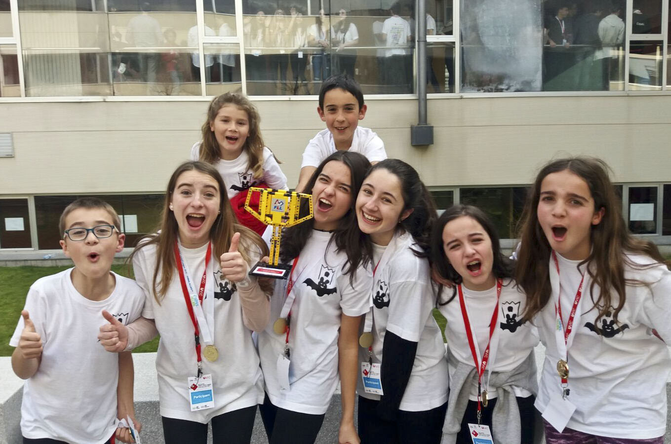 Els joves de Sant Pere guanyadors del concurs
